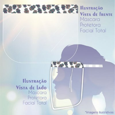 Máscara de Proteção Facial Total - Hamsa