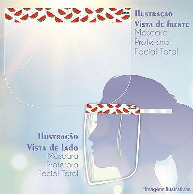 Máscara de Proteção Facial Total - Melancia