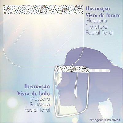 Máscara de Proteção Facial Total - Unicórnio
