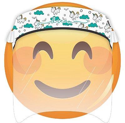 Máscara de Proteção Facial Total - Unicórnio Dream