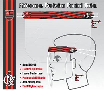 Máscara de Proteção Facial Total - FLAMENGO 01