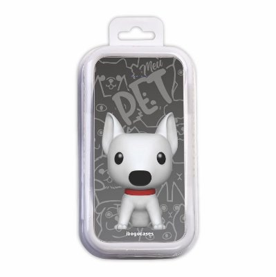 Carregador Portátil Power Bank - Cachorro Bull Terrier