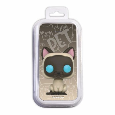 Carregador Portátil Power Bank - Gato Siamês
