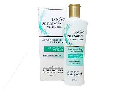 Loção Adstringente Pele Oleosa ou Mista Ligia Kogos 200ml