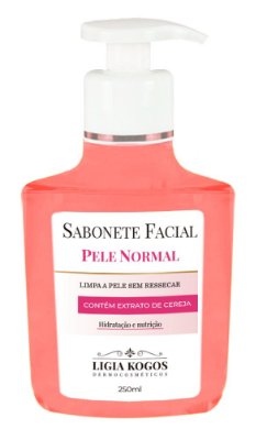 Sabonete Facial para Pele Normal Ligia Kogos 250ml