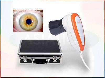 Iridoscópio USB 5MP Analisador de Iris Iridologia