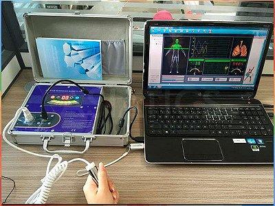 Analisador Ressonância Magnética Quântico Diagnóstico Saúde