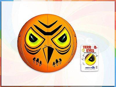 Balão 3d Espantalho Repelente De Pássaros Aves Roedores Ca12