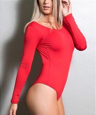 Body Letícia Vermelho