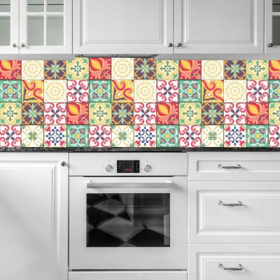 100 Adesivo de Azulejo 15x15