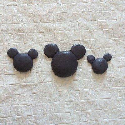 Molde Trio Cabeça Ratinho Para Lembrancinha 0058