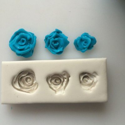 Molde 3 Rosas 0112