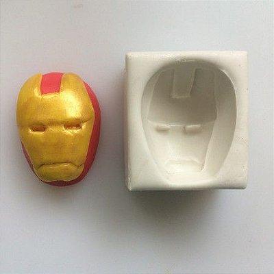 Molde Máscara Do Homem De Ferro 0159