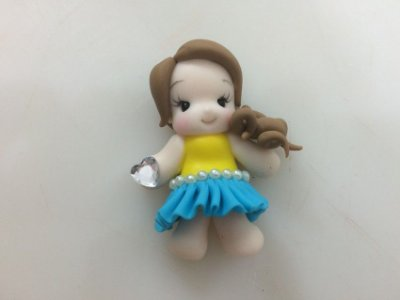 Molde Base de Boneca Mini 0229