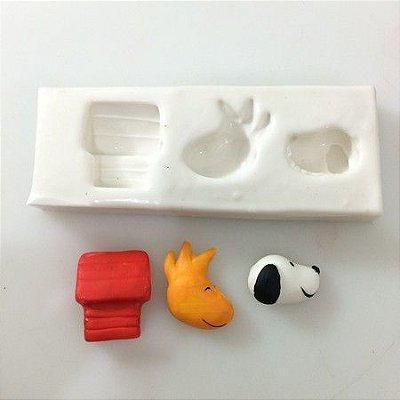 Molde Miniaturas do Snoopy 0268