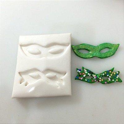Molde Duas Máscaras de carnaval 0271