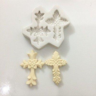 Molde duas cruzes 0371