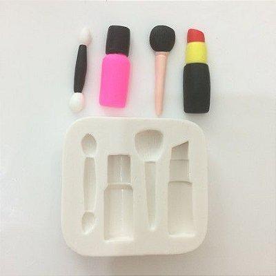 Molde miniatura de maquiagem importada 407