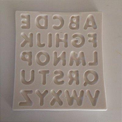 Molde Alfabeto Letra Maiuscula 0430