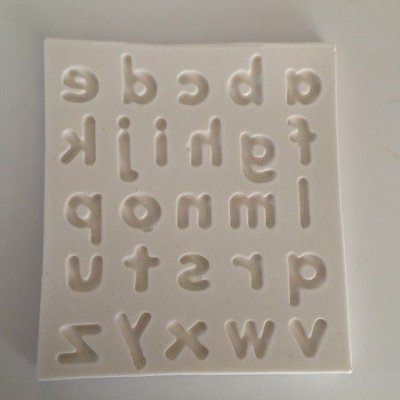 Molde Alfabeto Letras Minusculas 0431