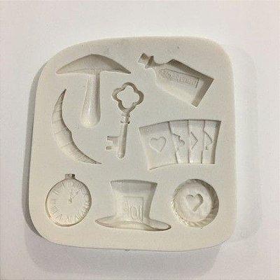 Molde Miniaturas da Alice 487