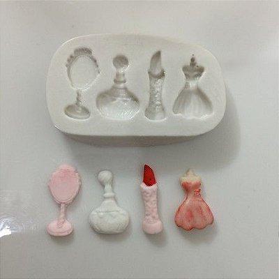 Molde Miniaturas Femininas 502