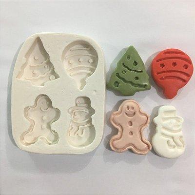 Molde Biscoitinhos de Natal 562