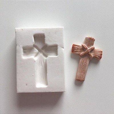 Molde Cruz de madeira 648