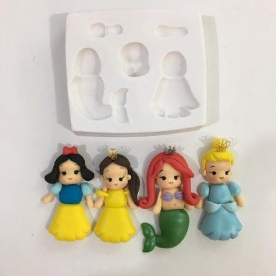 Molde Princesas 885