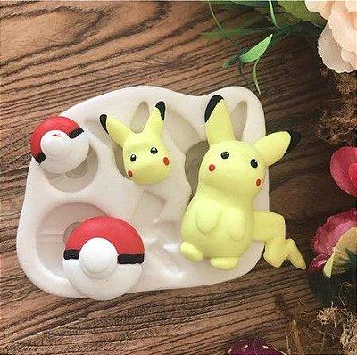 Molde Pokemon / pikachu 919