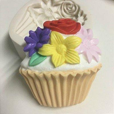 Molde Cupcake Flores 951