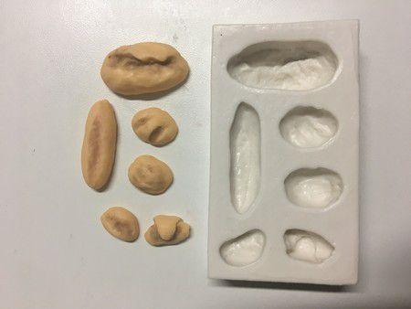 Molde Kit de Mini Pães 958