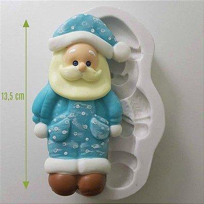 Molde Papai Noel Azul 1032