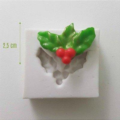Molde Mini Folhas de Natal 1036