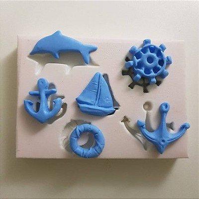 Molde Miniaturas da Praia 1070