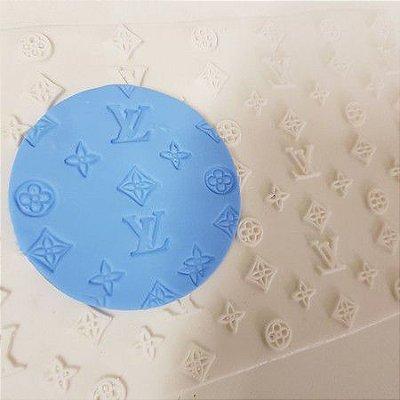 Molde Textura em Silicone LV 1277