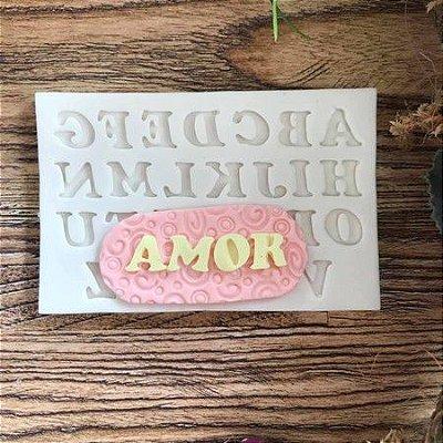 Molde Alfabeto Importado Maiusculo 1695