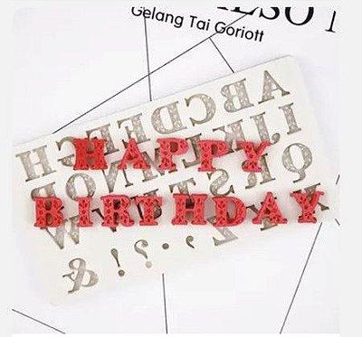 Molde Alfabeto 1800