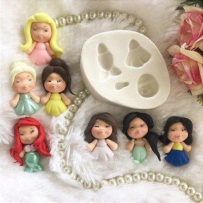 Molde Mini Princesas 1858