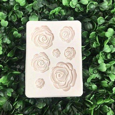 Molde Rosas 2105