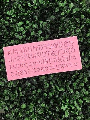 Molde Alfabeto 2124