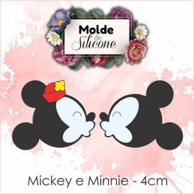 Cortador Mickey Minnie 037