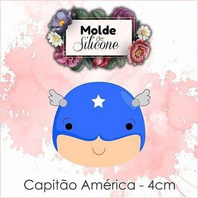 Cortador Cabeça Cap America 079