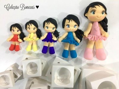 Moldes Kit Coleção Bonecas Completo
