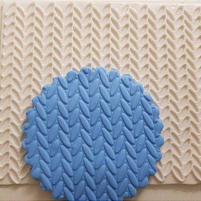 Molde Textura de Silicone Crochê 1278