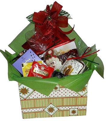 Caixa presente de Natal