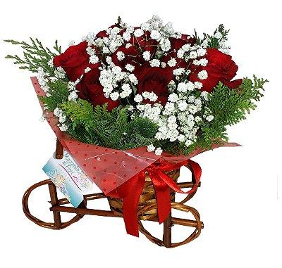 Bicicleta com Rosas