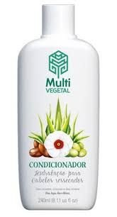 MULTI VEGETAL CONDICIONADOR DE OLIVA COM ARGAN - 240ML