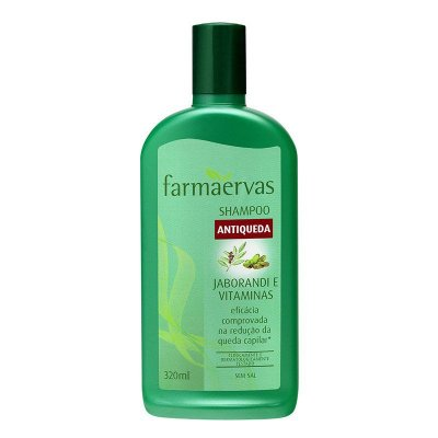 FARMAERVAS SHAMPOO ANTIQUEDA JABORANDI E VITAMINAS 320ML