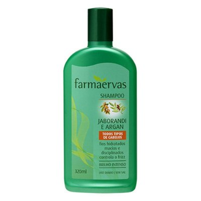 FARMAERVAS SHAMPOO ANTIFRIZZ JABORANDI E ARGAN 320ML